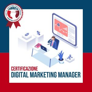 Corso Digital Marketing Manager Certification cover