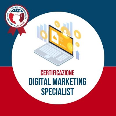 Corso Digital Marketing Specialist Certification cover