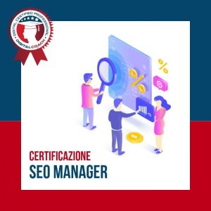Corso Seo Manager Certification cover