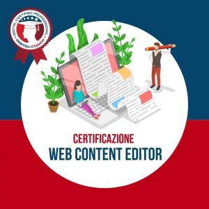Corso Web Content Editor Certification cover