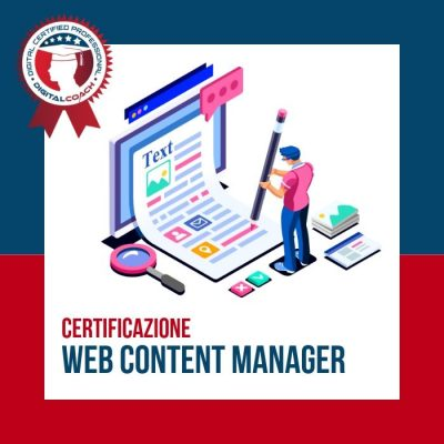 Corso Web Content Manager Certification cover