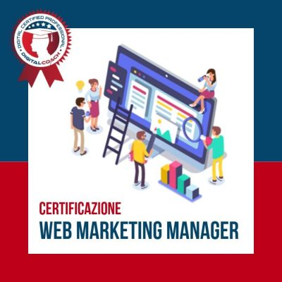 Corso Web Marketing Manager Certification cover