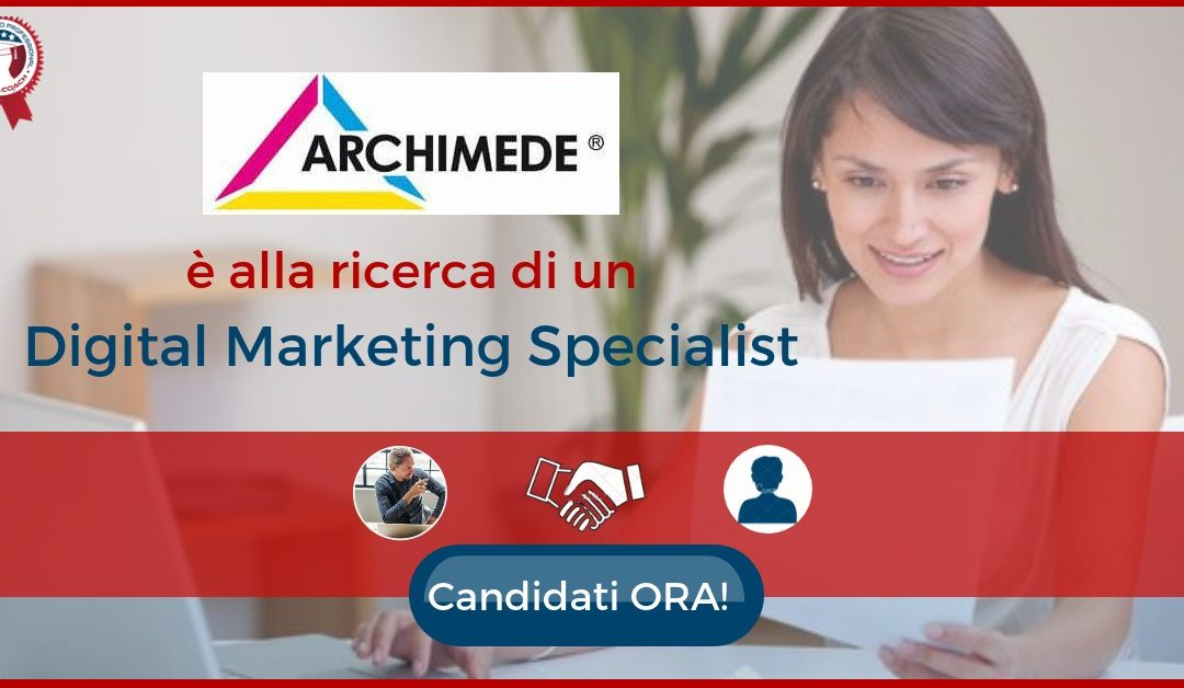 Digital Marketing Specialist - Reggio Emilia - Archimede
