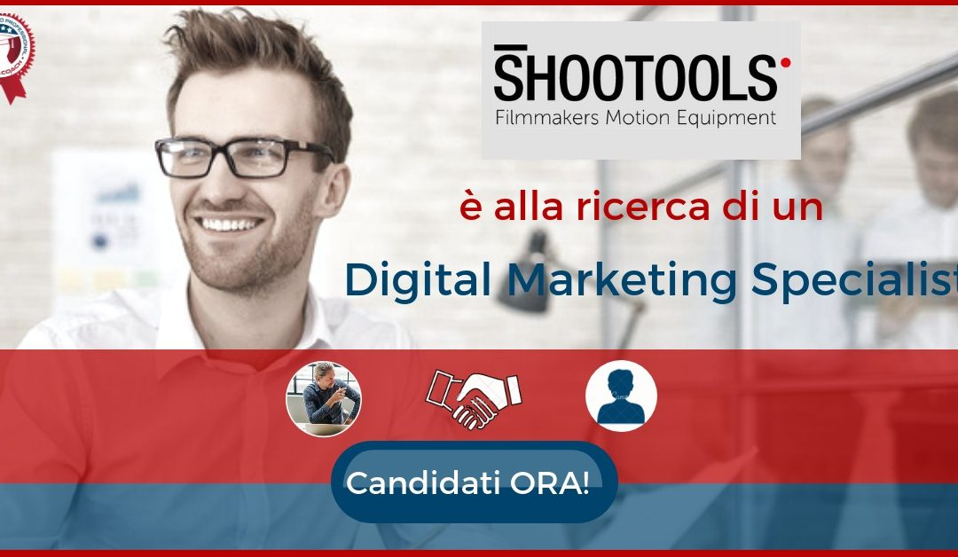 Digital Marketing Specialist con competenze grafiche – Palmanova – Shootools