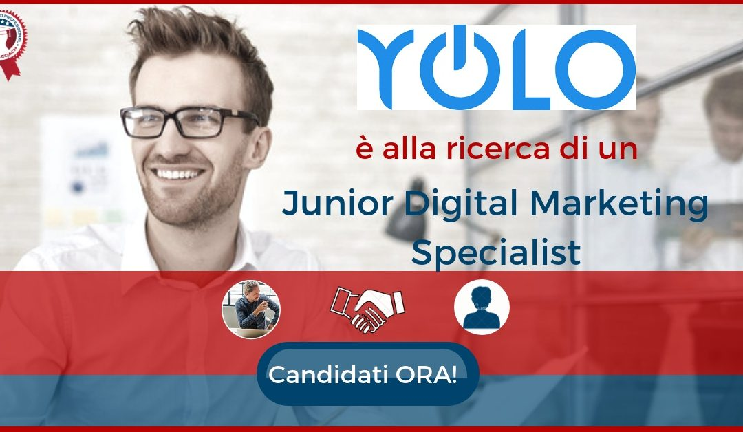unior Digital Marketing Specialist - Milano - YOLO Group.