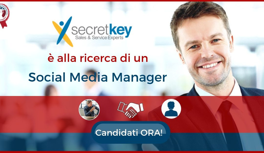 Social Media Manager - Roma -Secret Key