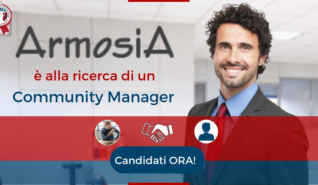Community Manager – Roma – ArmosiA