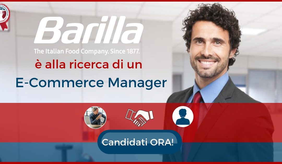 E-Commerce Manager – Parma – Barilla