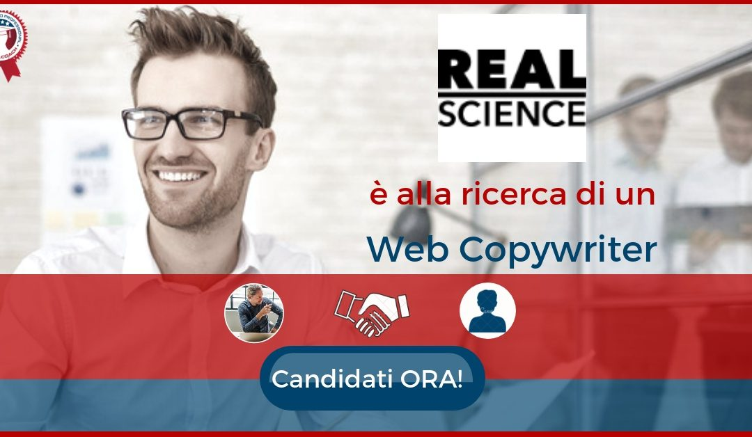 Web Copywriter – Milano – Real Science Communications