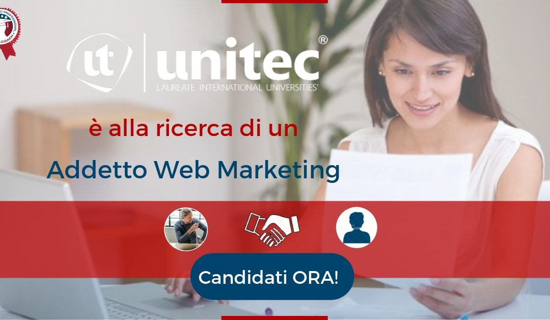 Addetto Web Marketing  – Bologna – UNITEC