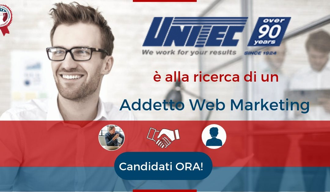 Addetto Web Marketing  – Ravenna – Unitec S.p.A.