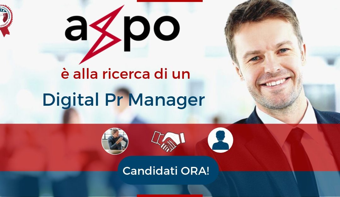 Digital Pr Manager - Milano - Axpo