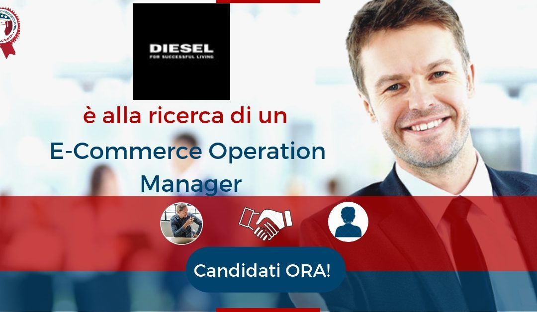 E-Commerce Operation Manager – Vicenza – Diesel