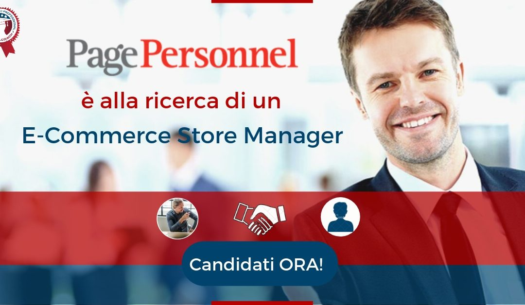 E-Commerce Store Manager - Milano - Page Personnel