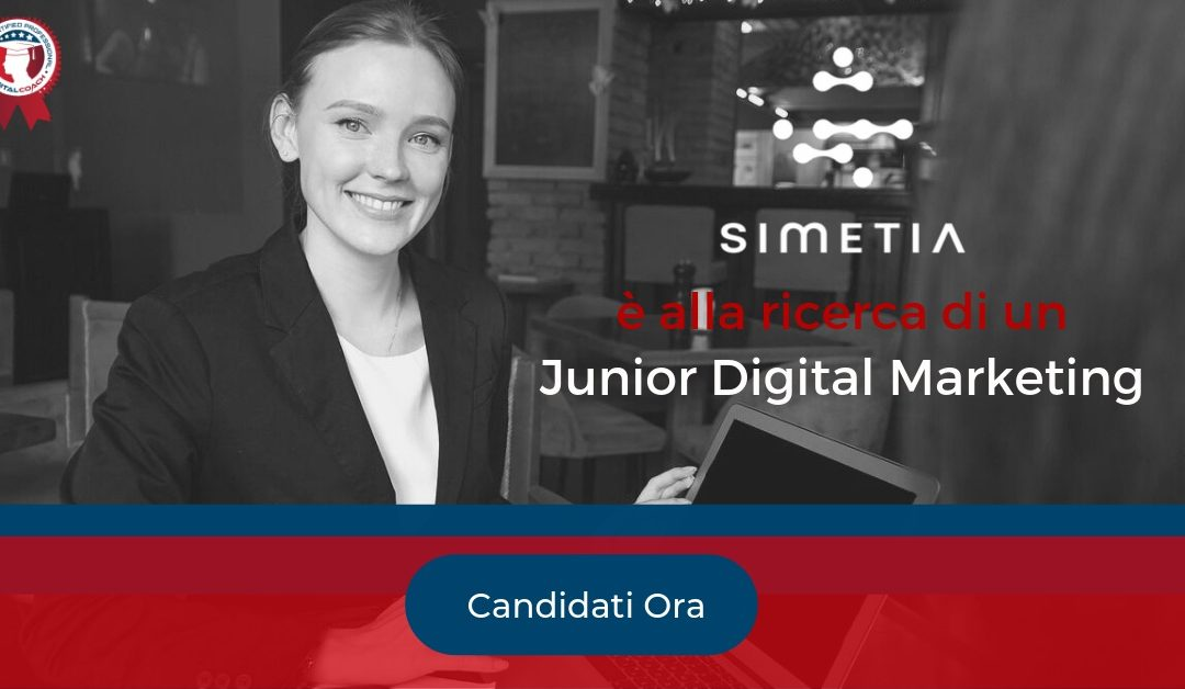 Junior Digital Marketing - Milano - Simetia