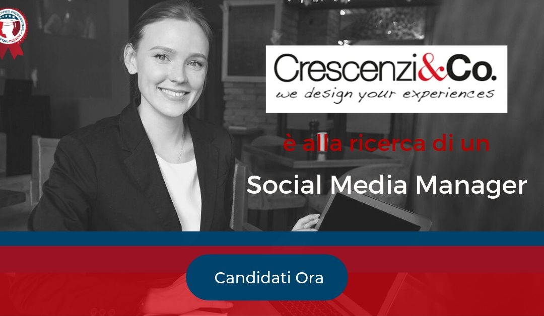 Social Media Manager – Milano – Crescenzi&Co.