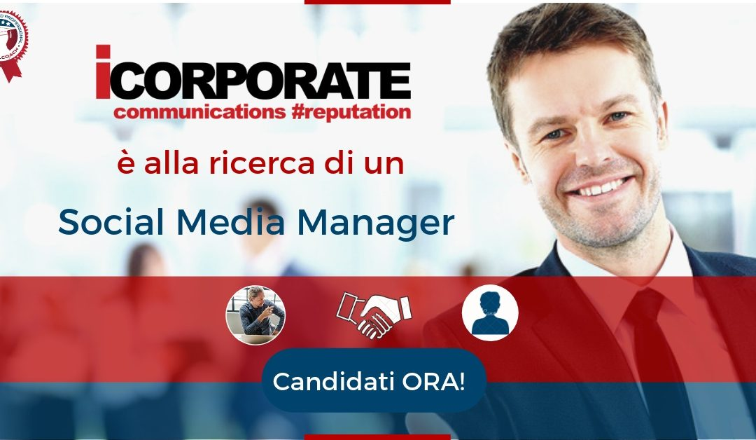 Social Media Manager - Milano - iCorporate.
