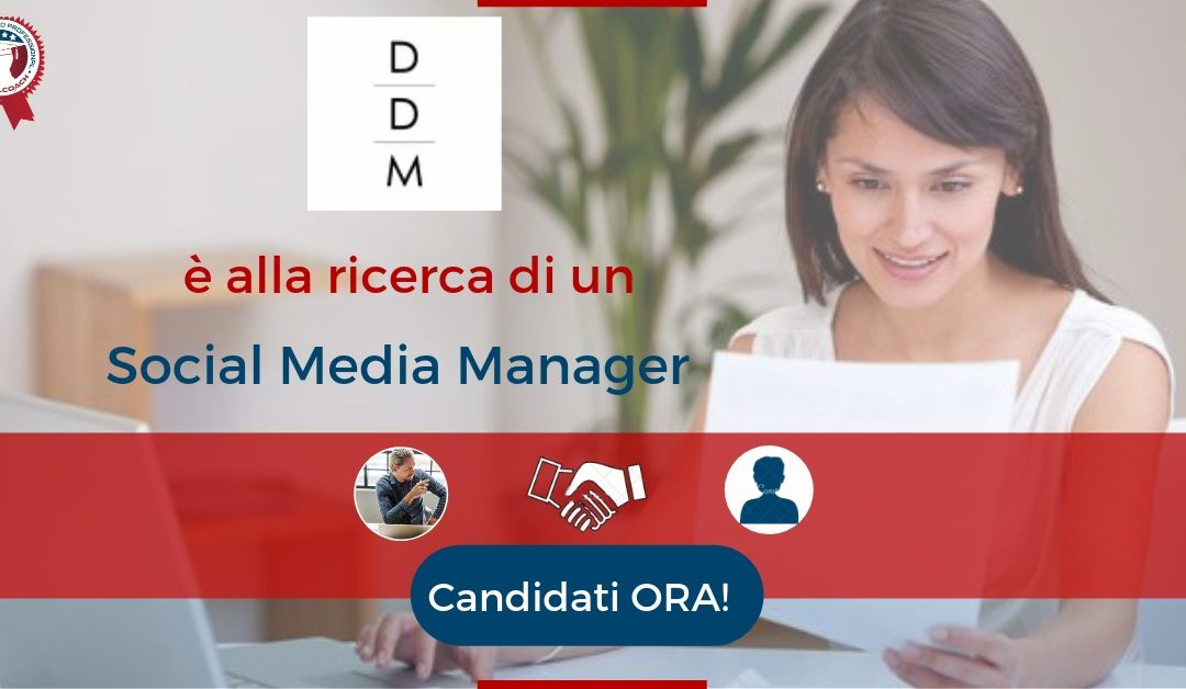 Social Media Manager - Verona - DDM Advertising