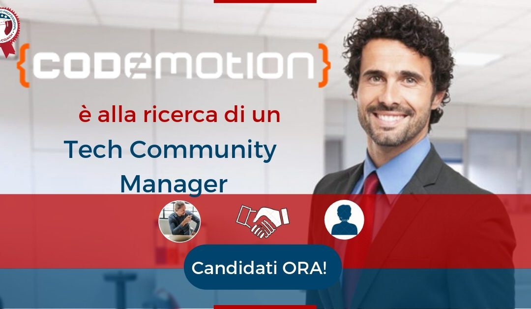 Tech Community Manager – Roma – Codemotion