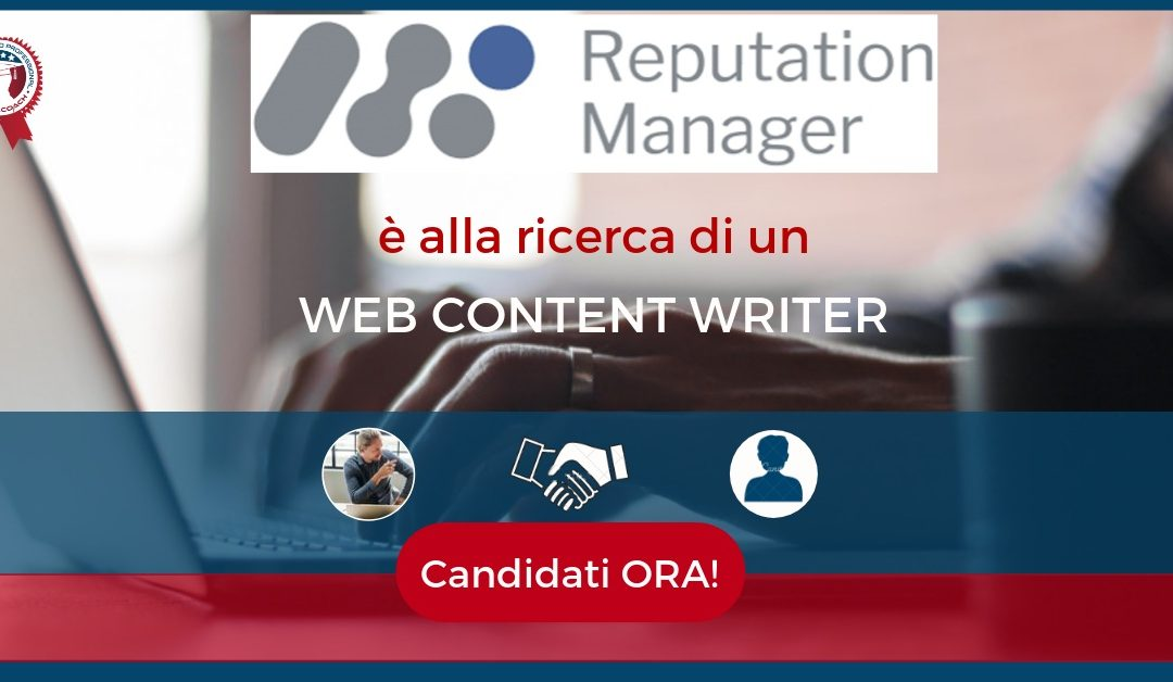 Web Content Writer - Milano - Reputation Manager