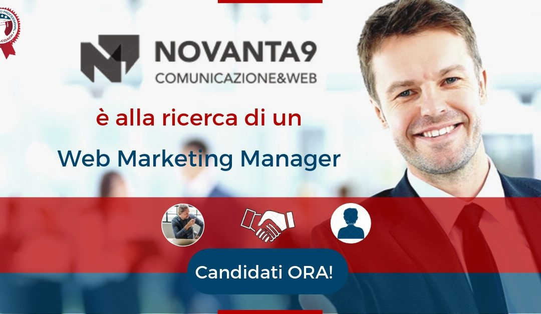 Web Marketing Manager – Brescia – Novanta9 WebAgency