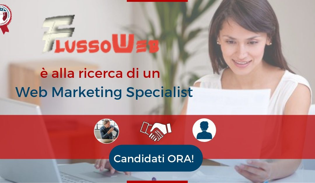 Web Marketing Specialist - Asti - FlussoWeb
