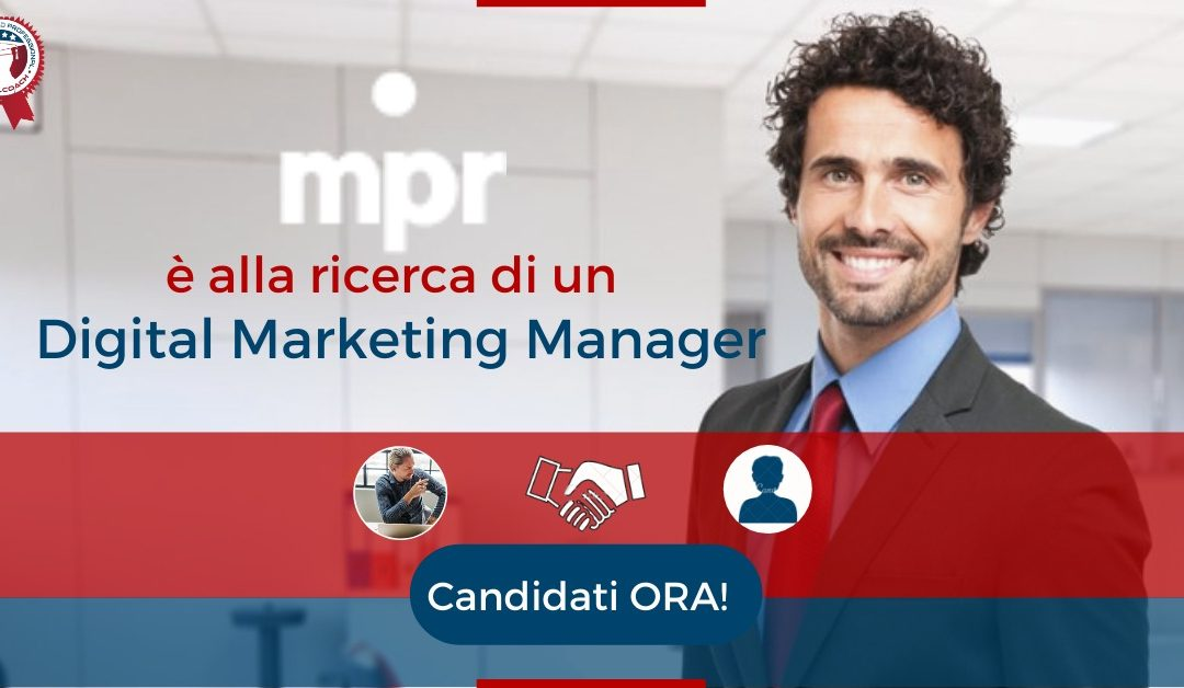 Digital Marketing Manager - Faenza - Mpr Comunicazione