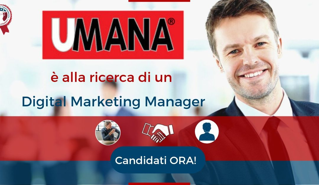 Digital Marketing Manager - Venezia - UMANA