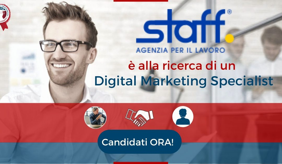 Digital Marketing Specialist – Mantova – Staff