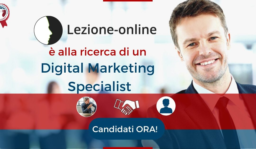Digital Marketing Specialist - Perugia - Lezione-online.it