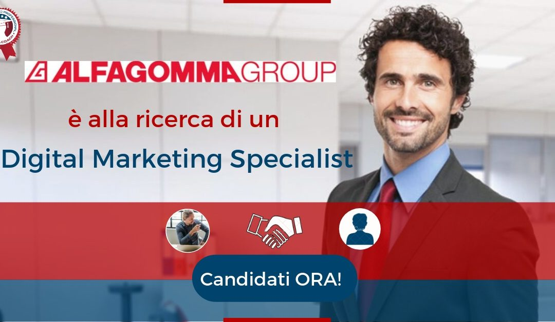 Digital Marketing Specialist - Vimercate - Alfagomma