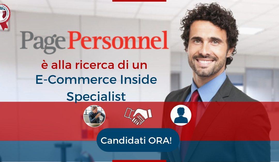 E-Commerce Inside Specialist - Milano - Page Personnel
