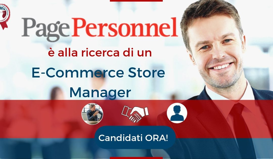 E-Commerce Store Manager - Vicenza - Page Personnel