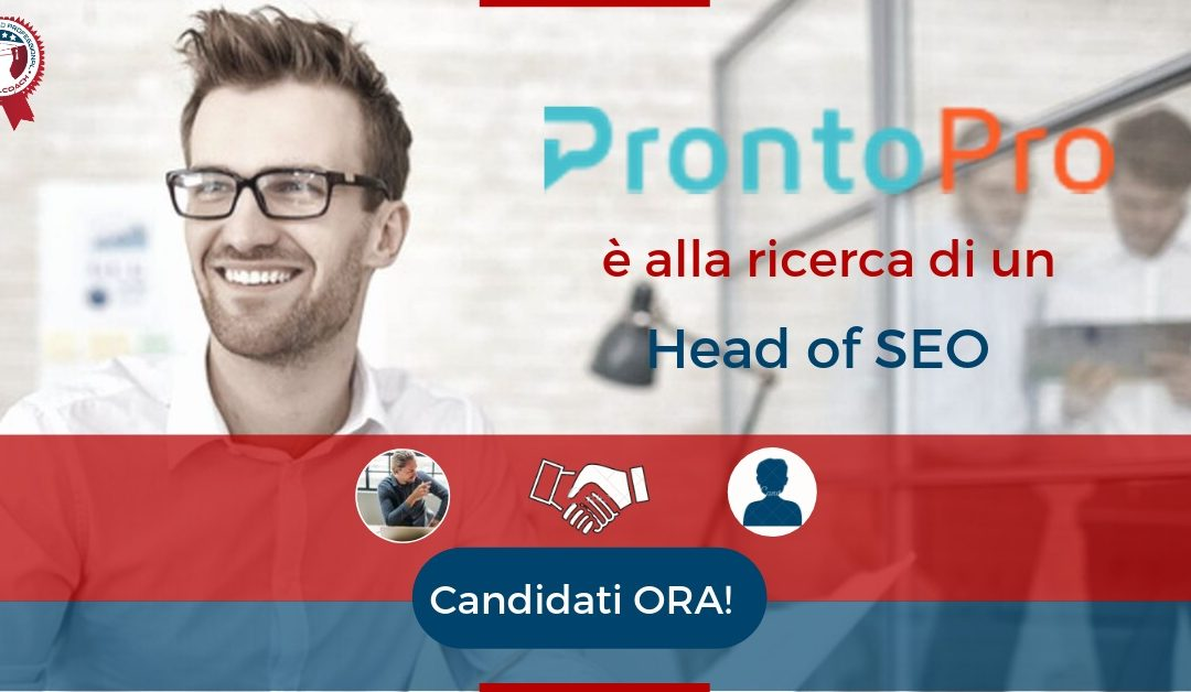Head of SEO - Milano - ProntoPro