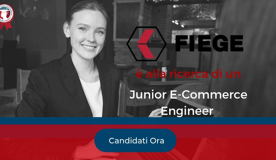 Junior E-Commerce Engineer - Verona - FIEGE Logistic