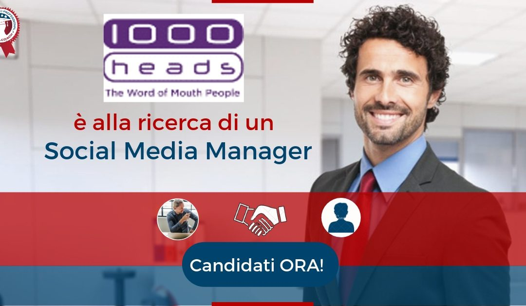 Social Media Manager – 1000 Heads