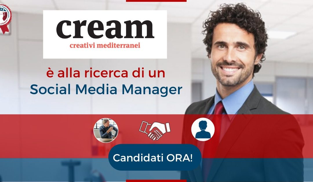 Social Media Manager - Bari - Cream Creativi Mediterranei