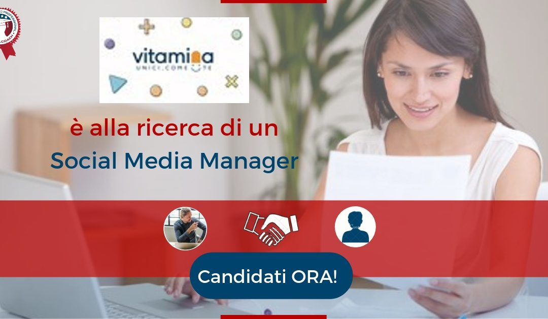 Social Media Manager - Pistoia - Vitamina
