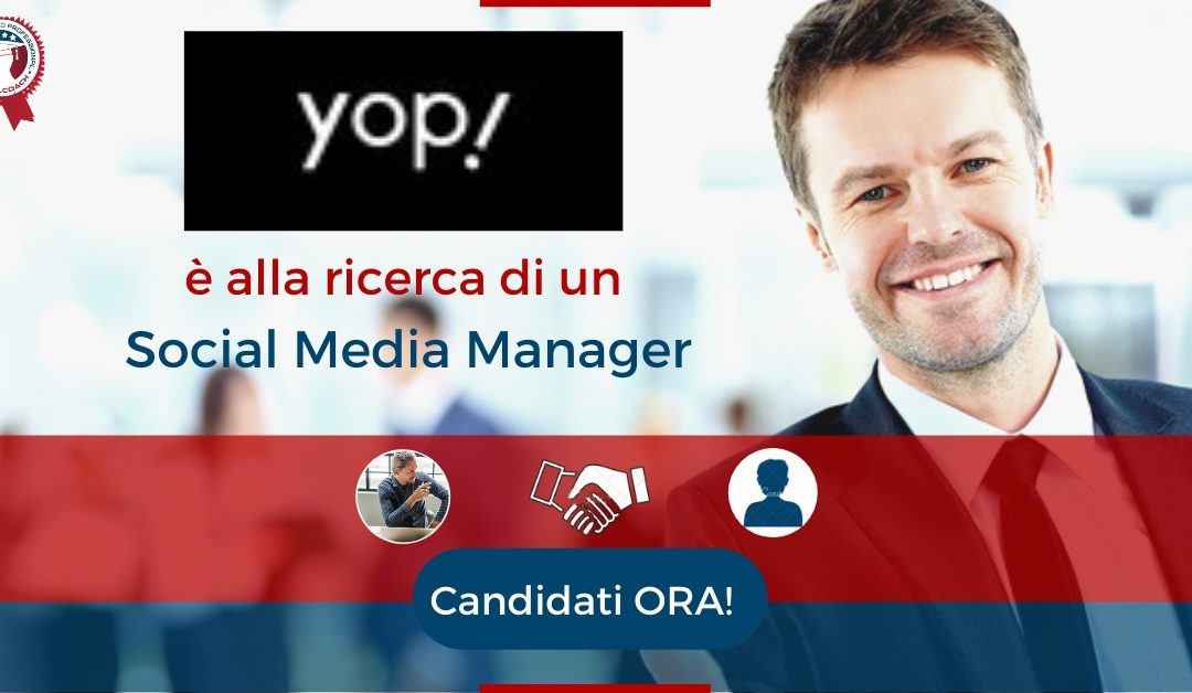Social Media Manager – Varese – Yop Comunicazione
