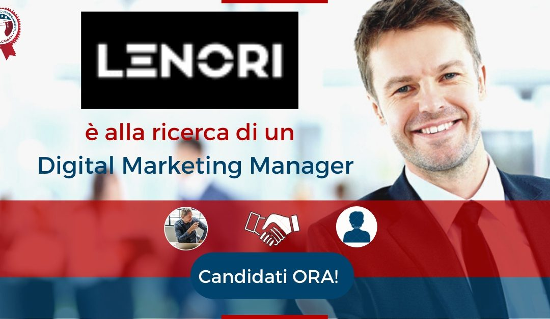 Digital Marketing Manager – Perugia – Lenori