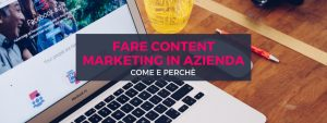fare content marketing in azienda