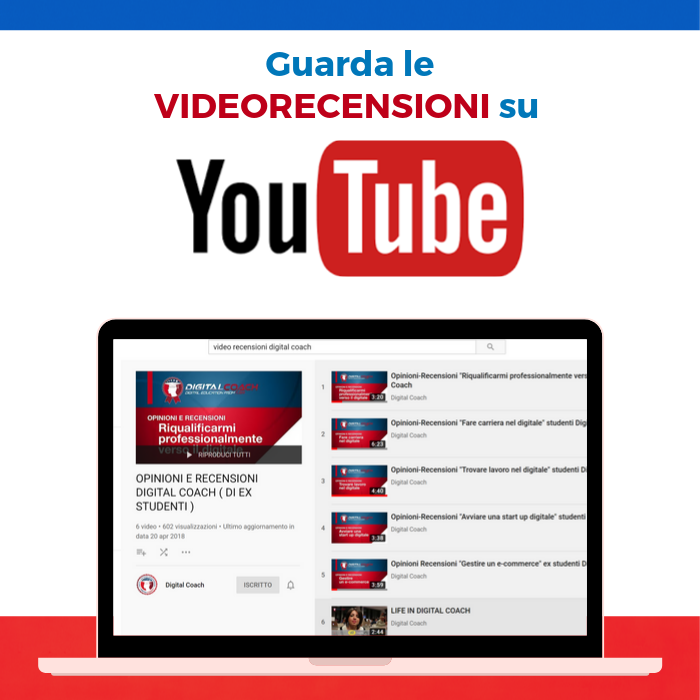 gestire e-commerce - guarda le video recensioni su youtube