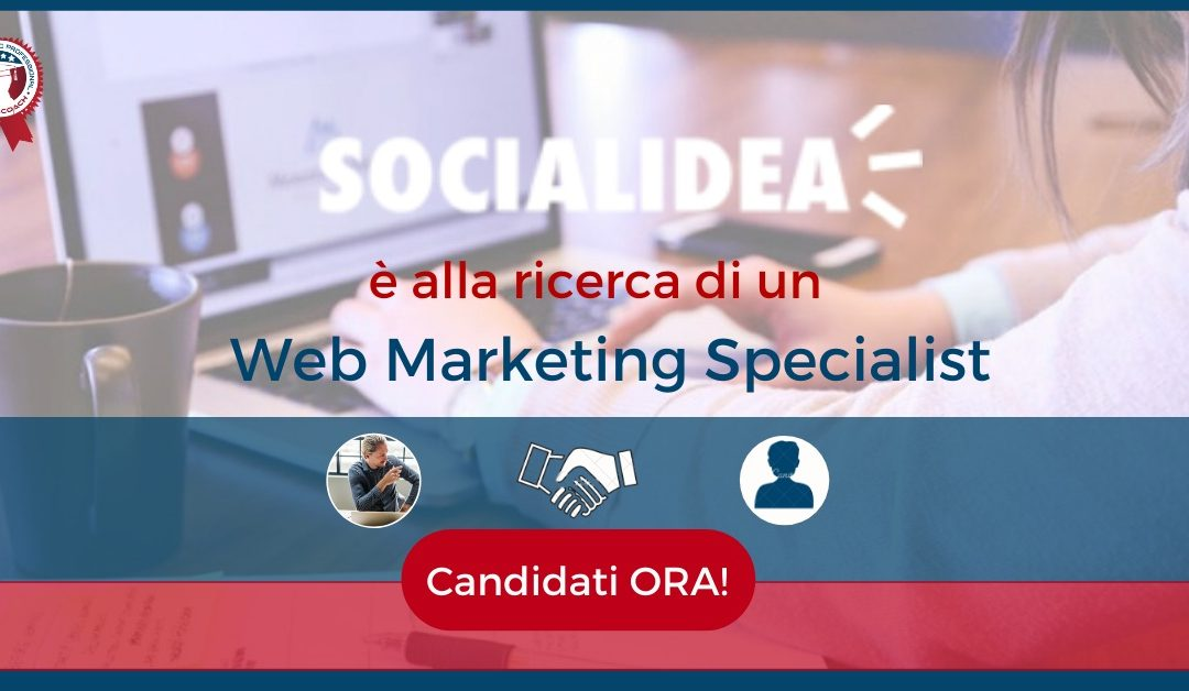 web marketing specialist-monza-socialidea