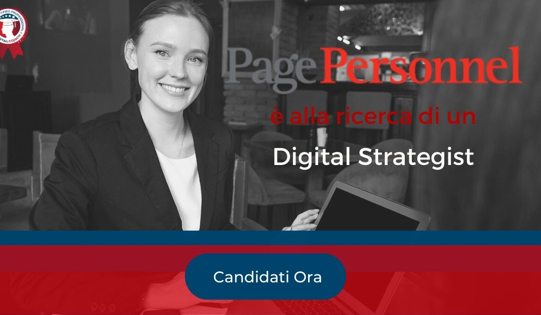 Digital Strategist - Milano - Page Personnel