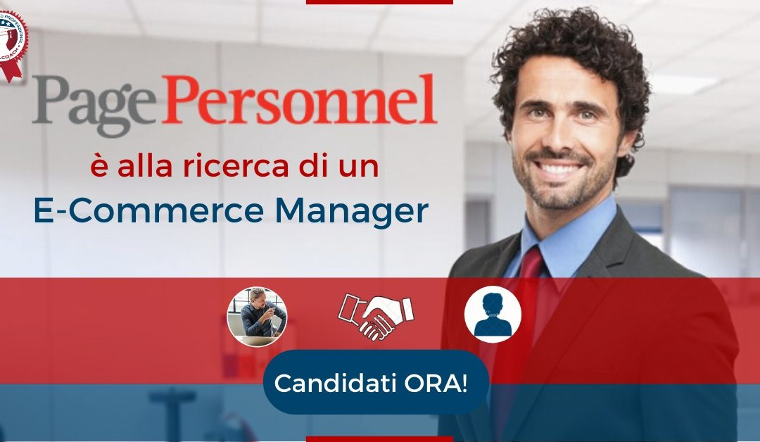 E-Commerce Manager - Vicenza - Page Personell