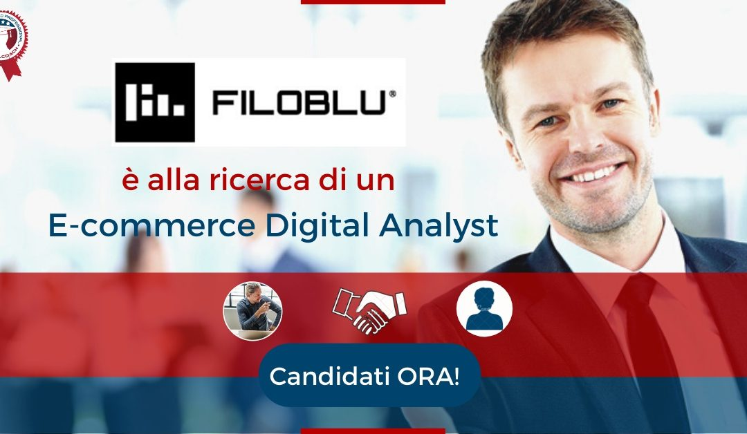 E-commerce Digital Analyst - Venezia - FiloBlu