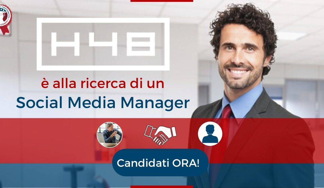 Social Media Manager - Milano - H48