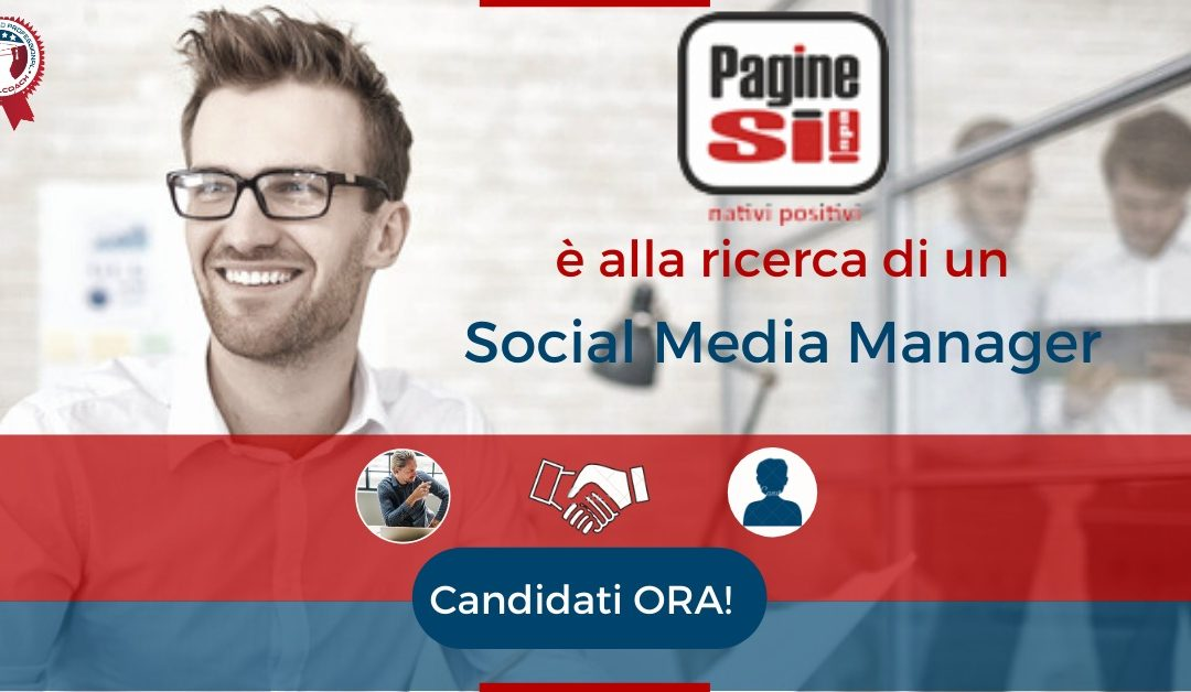 Social Media Manager - Pavia - Pagine Sì!