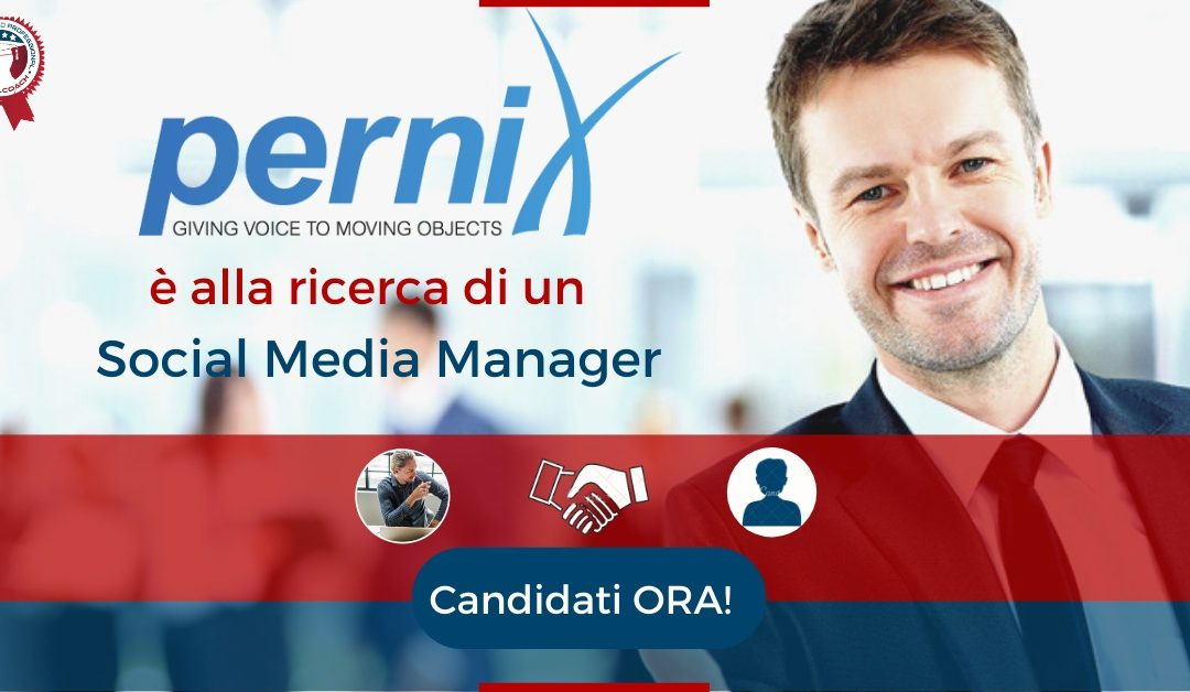 Social Media Manager - Quarto d'Altino - Pernix S.r.l