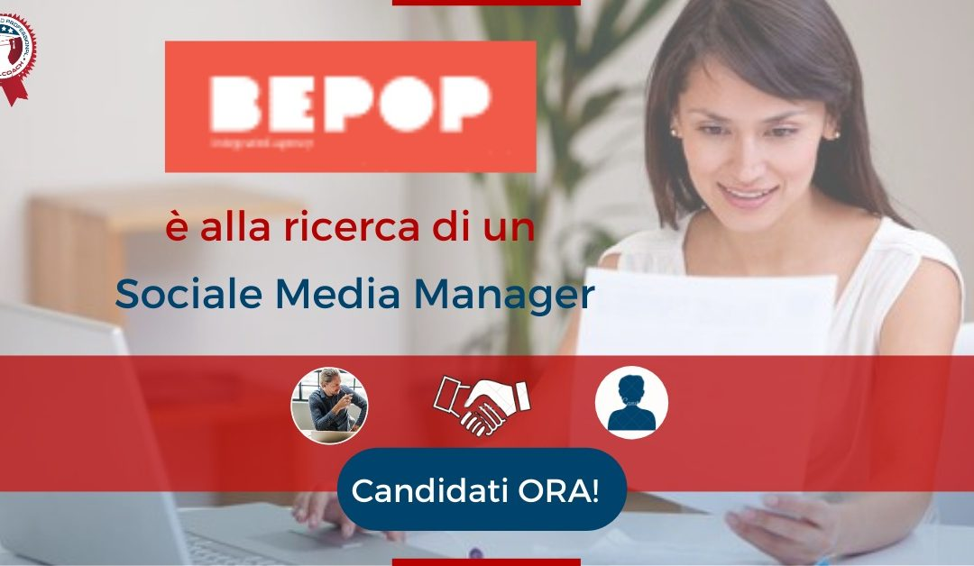 Sociale Media Manager - Roma - BePop